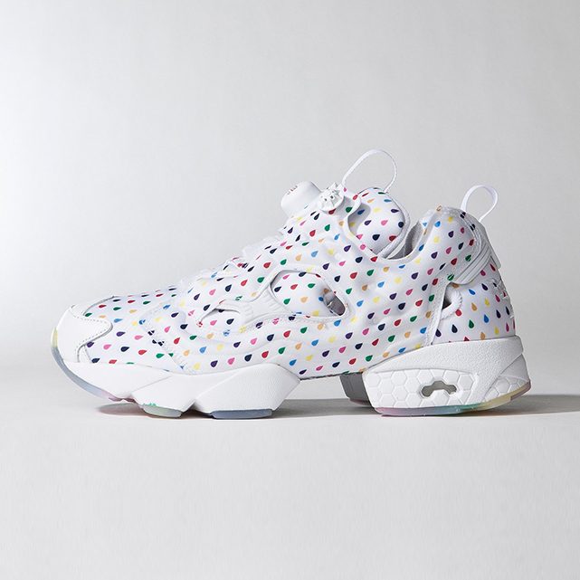 REEBOK INSTA PUMP FURY RAINBOW