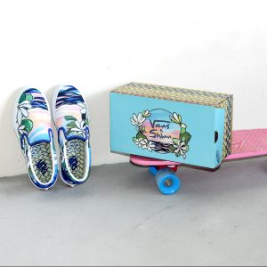 VANS×Christie Shinn  SLIPON