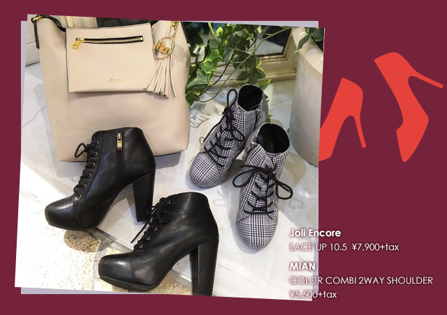 Shoes & Bag Autumn Coordinate Fair