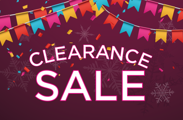 CLEARANCE SALE☆