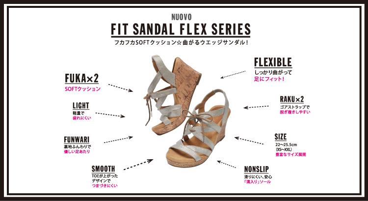 【NUOVO】 Fit SANDAL シリーズ